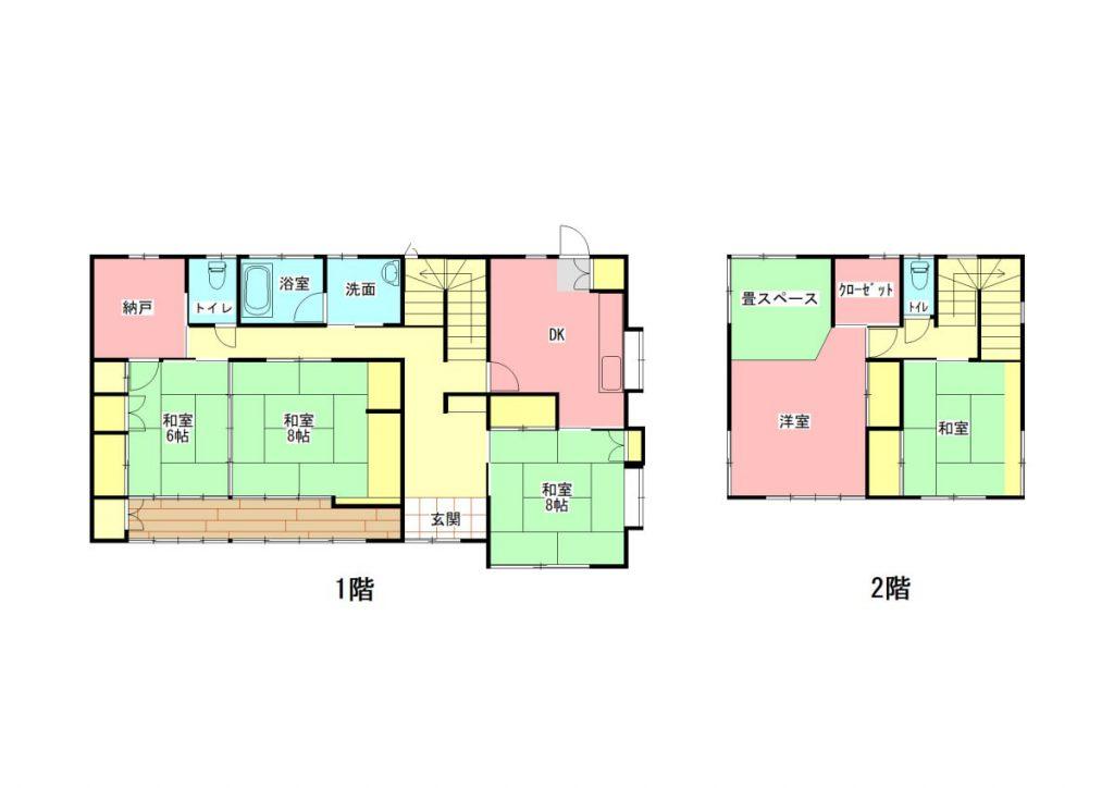 47坪の大きな邸宅です